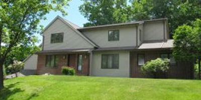 A spacious Contemporary on a corner lot in the heart of Vestal.