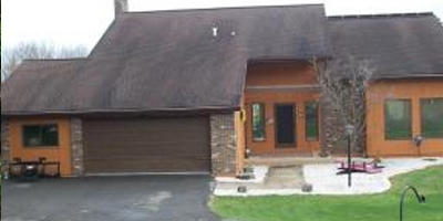 A spacious Contemporary on 3 acres just couple miles from Upper Front St.