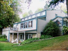 A huge year-round lakeside home at Oquaga Lake