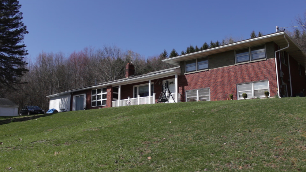 A beautifully updated brick split-level home on over 4 acres.