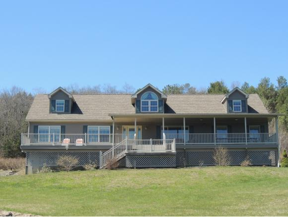A spectacular 40+ acre property on White Birch Lake with a newer one-owner home.