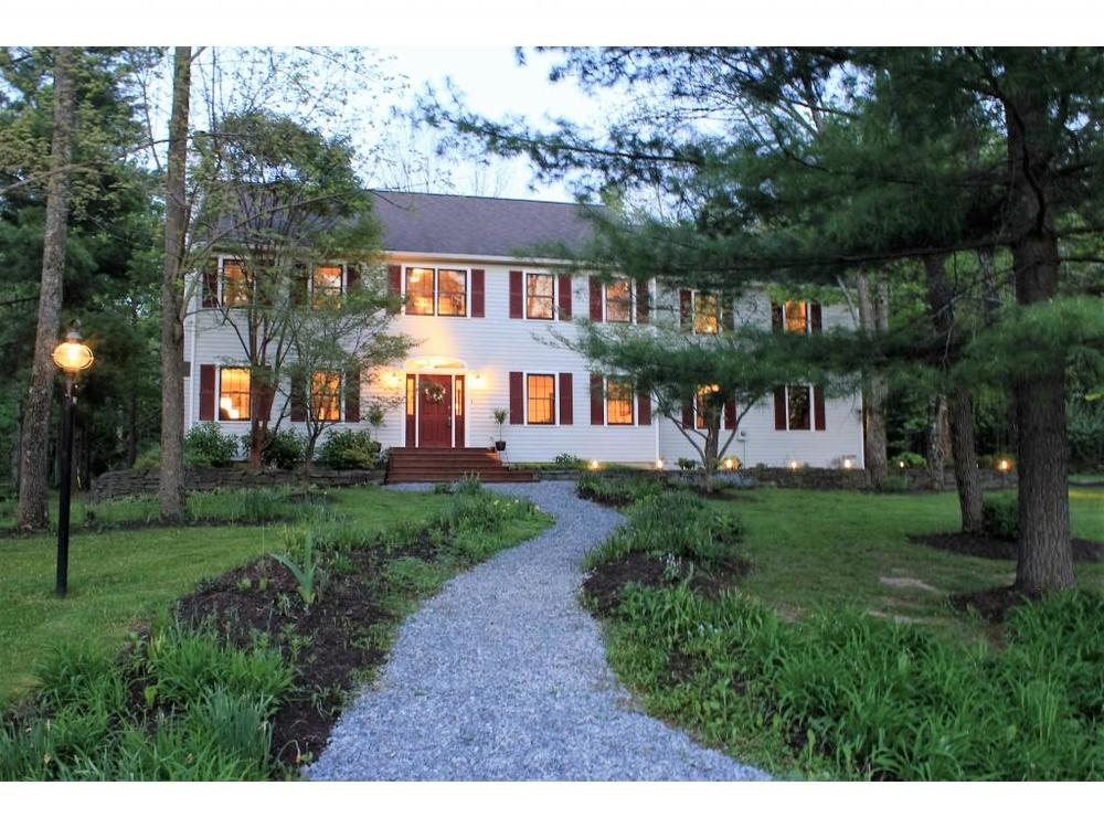 A gorgeously updated Center Hall Colonial on a local traffic street just minutes from downtown Ithaca.
