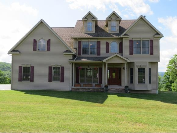 A newer luxury home with spectacular country views.