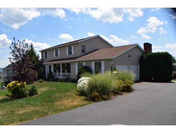 A magnificent colonial with a pool and some of the best views in the area.