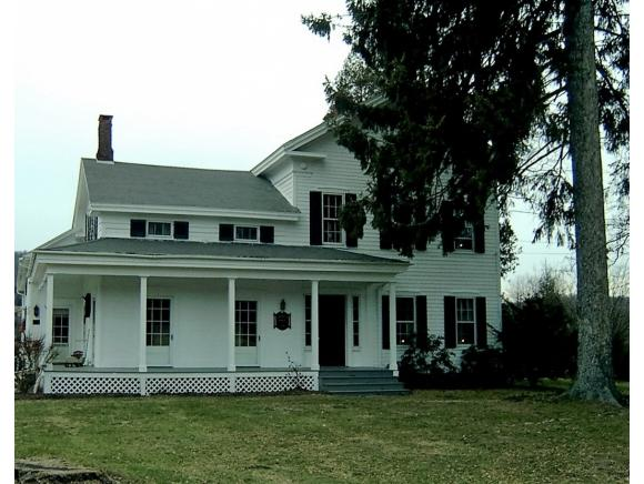 A beautiful historic country home in a pastoral setting minutes to Owego and Ithaca.