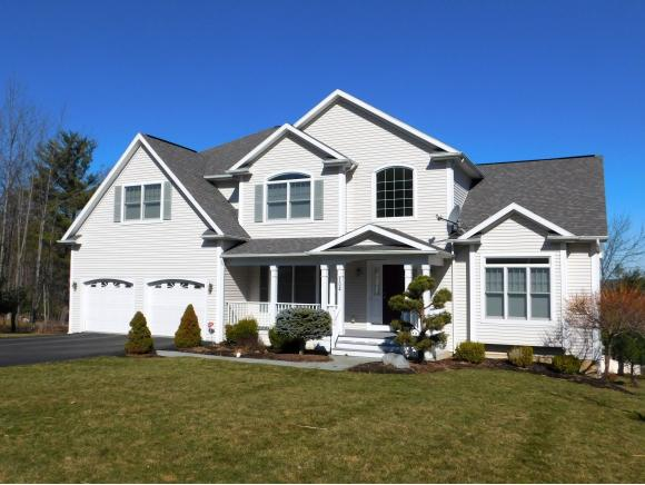 A luxury newer home in the hills of Vestal.
