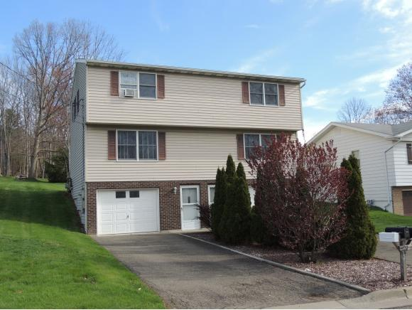 A well-maintained 2-family in the hills of Endicott.