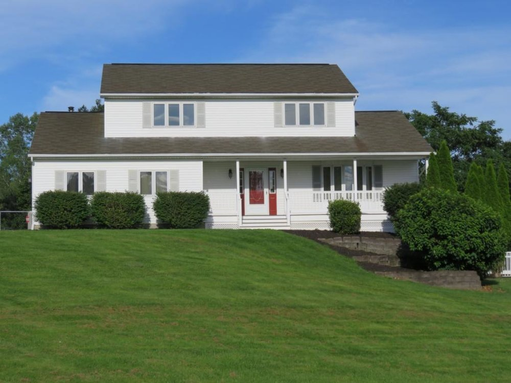 A spacious 2-story with a heated in-gound pool just a couple miles from Chenango Valley State Park.