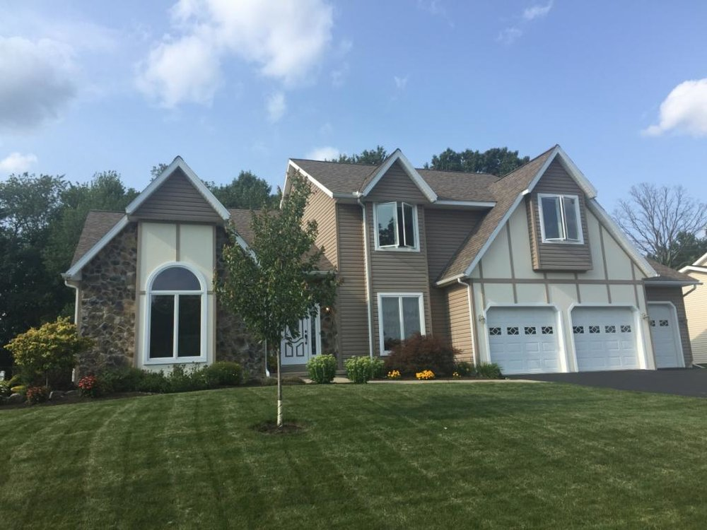 A beautiful newer contemporary overlooking the valley in Endicott.