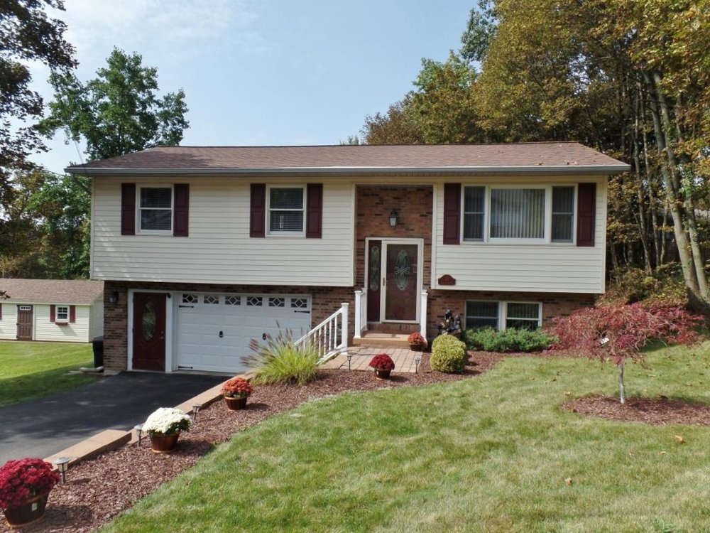 A fully updated home on a double lot high on Binghamton's South side.