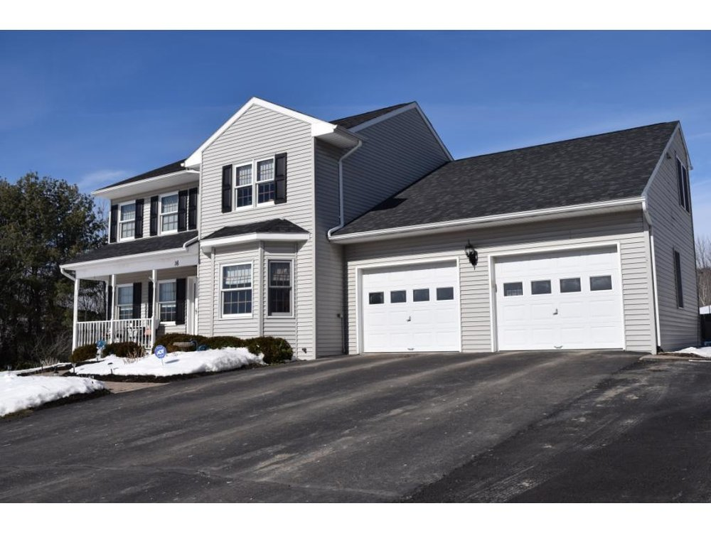 A stunning 2-story overlooking the valley of Owego.
