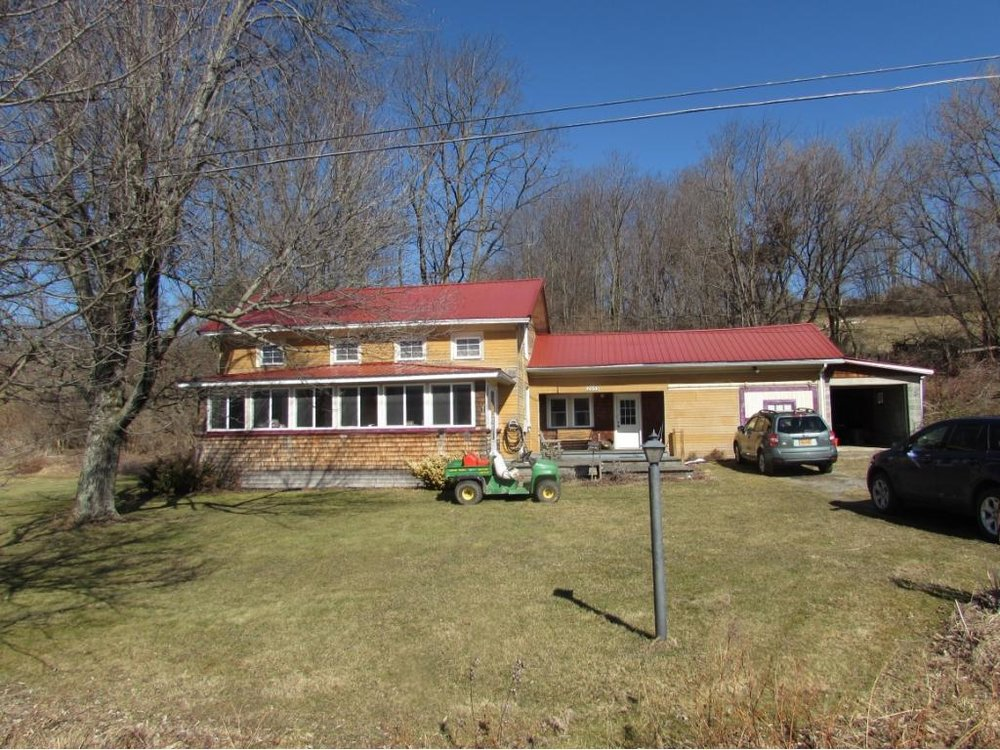A beautiful country home and blueberry farm on over 38 acres.