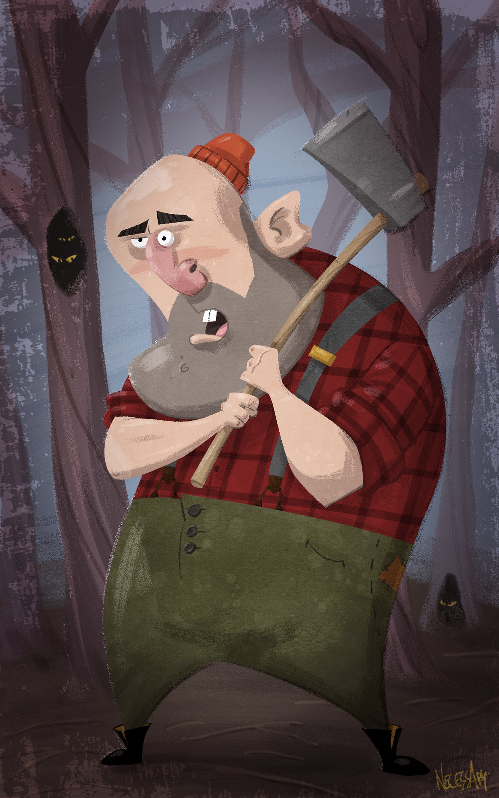 Look Out, Lumberjack!