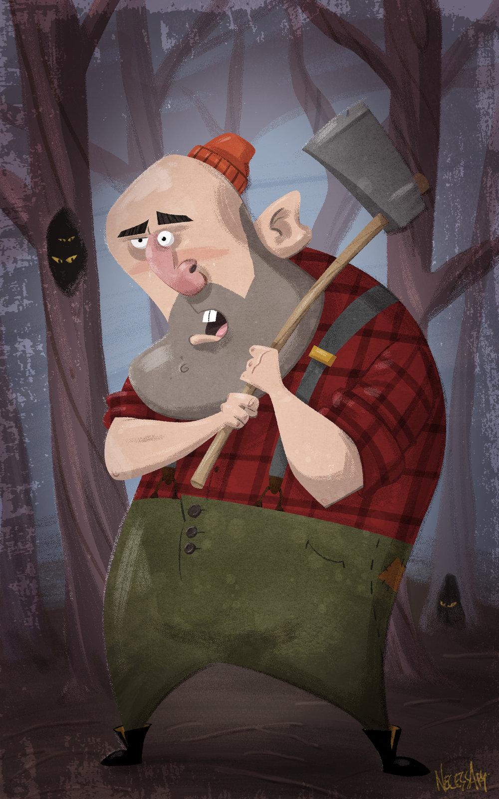 Look Out, Lumberjack!