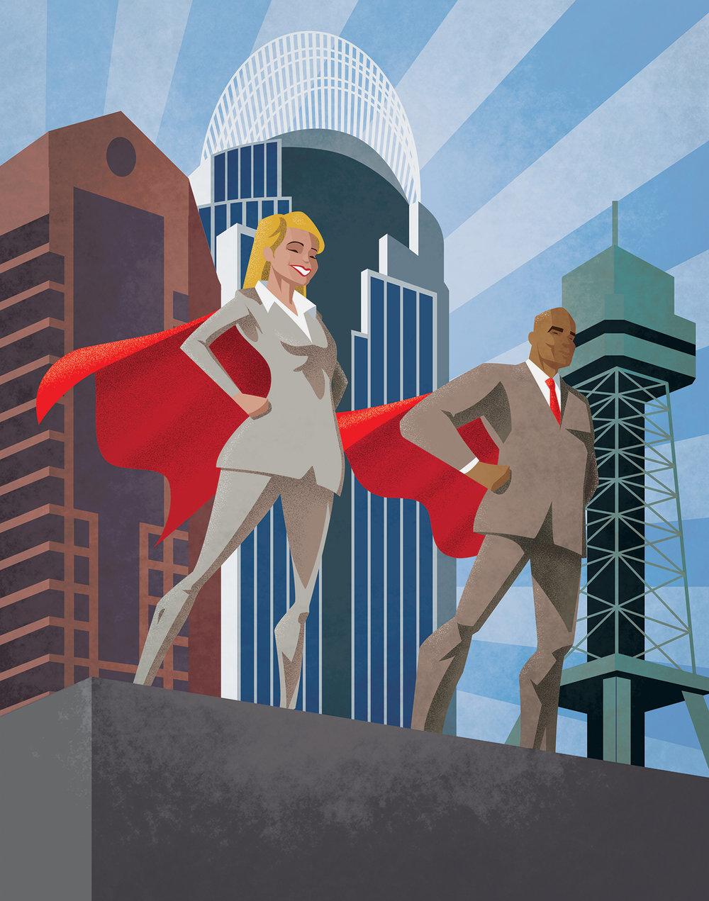 Cincinnati Business Superheroes