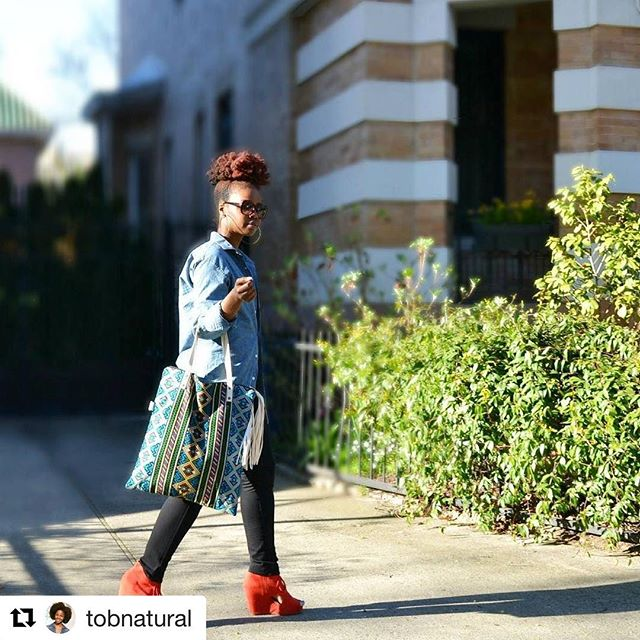 #Repost @tobnatural (@get_repost) ・・・ Looking forward to a productive week. . . . 📷 @kaydevine2015 《TAP PIC for details》  #believeinbold #lilyandevetotes #sundaybest
