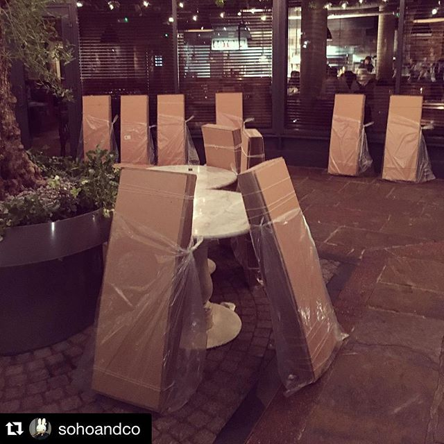 #Repost @sohoandco with @repostapp. ・・・ And so the cycle of life continues. Goodbye for now @hoxcupsakebar