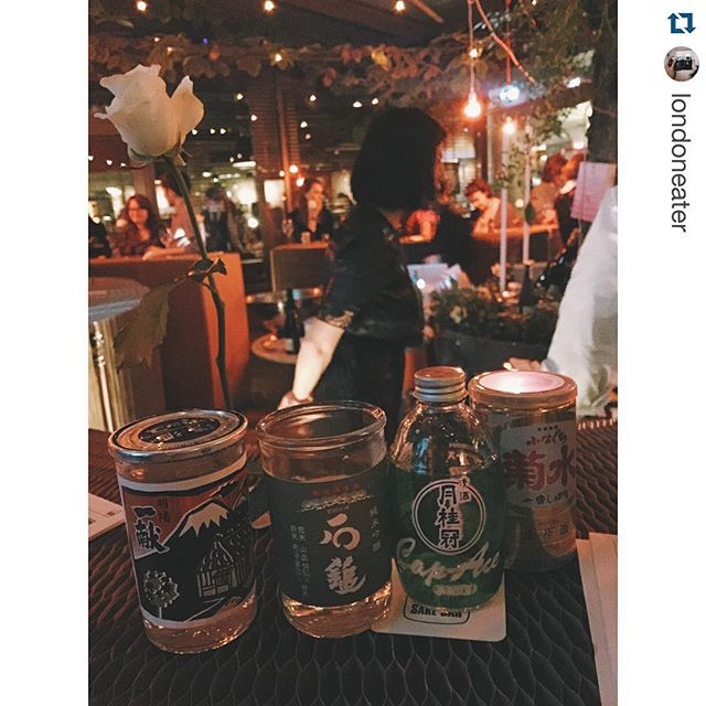#Repost @londoneater with @repostapp. ・・・ 3rd and 4th cups @hoxcupsakebar @natsukipim are Ikkon & Ishizuchi Green