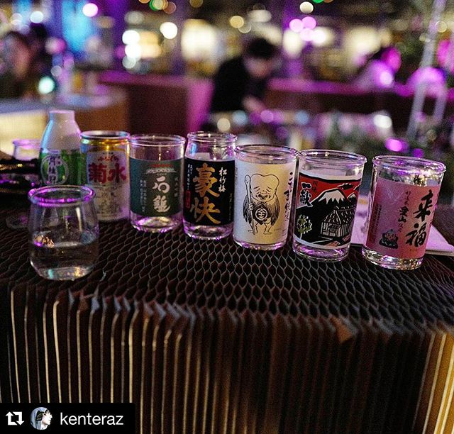 #Repost @kenteraz with @repostapp. ・・・ #monday #sake @hoxcupsakebar #london