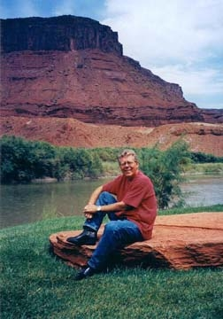 Joel Christiansen at Sorrel River Ranch near Moab, Utah.