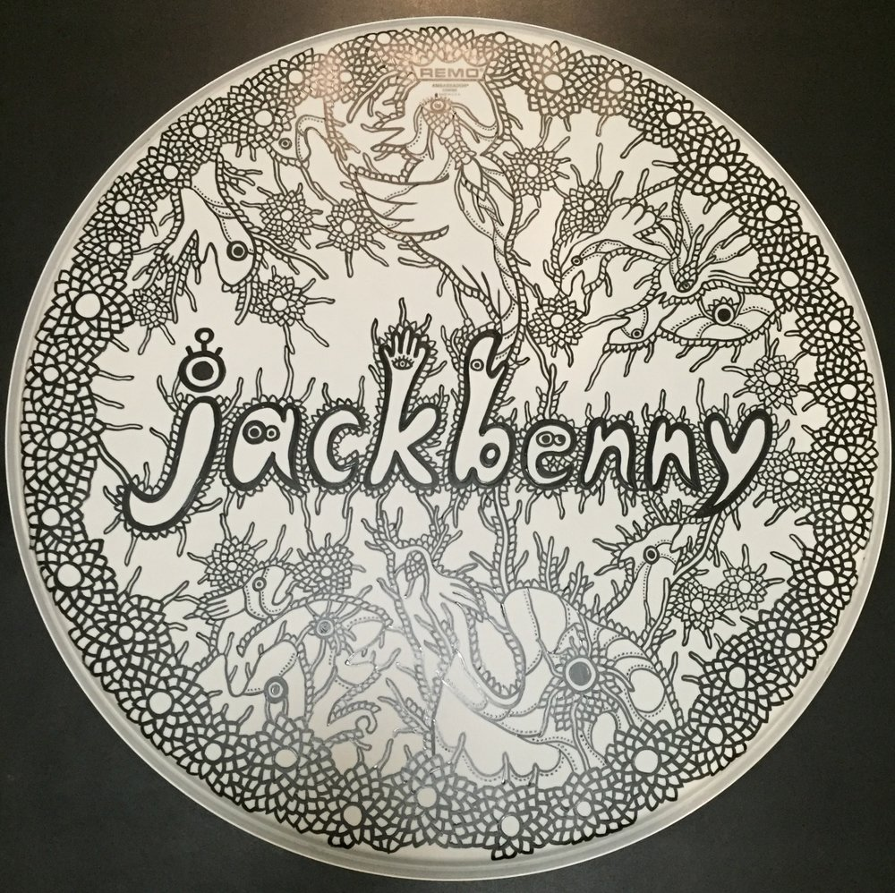 Rhythm (2016)  Drum head for  Jackbenny