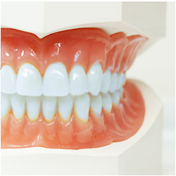 Dentures and Partials   If you're missing multiple teeth, partials and dentures are a great way to help you restore your abilities to chew.