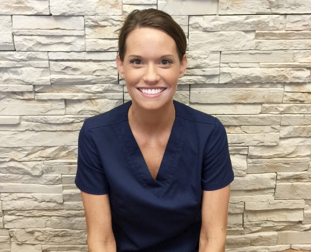 Liz    Clean Agent  Liz is a dental hygienist. When Liz is not at work, she enjoys spending time with her husband, girls and her newborn, playing games and traveling.