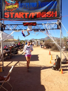 Crossing the finish line (28:24:11)