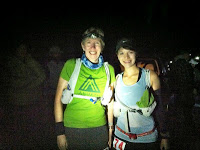 Sarah D and me at the start