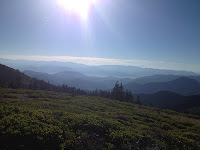 View from the summit of Grayback Mountain.
