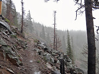 Ridgeline leading to Breitenbush (photo by Mike Davis)