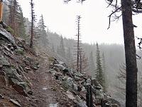Ridgeline leading to Breitenbush (photo by Mike Davis)