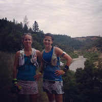 Sarah and me at Western States training camp.