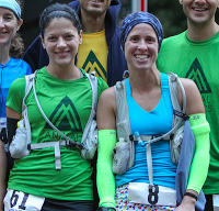 Sarah and me at the start line of MH50.