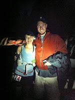 Jeff & me at the start