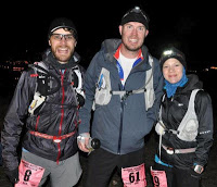 Jeremy, Jeff, and me (around mile 54).