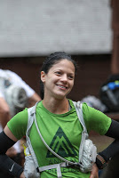 At the start line of MH50 (Photo by Long Run Photo)