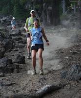 Descending Maiden Peak (Photo by Long Run Photo)