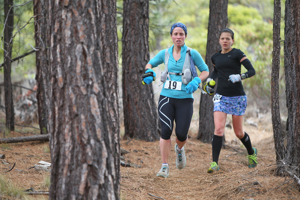 Sarah & me about 31 miles in (photo by Glen Tachiyama)
