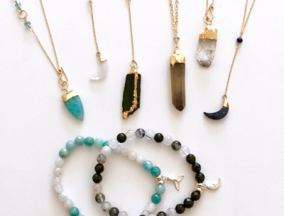 Crystal Jewelry for support