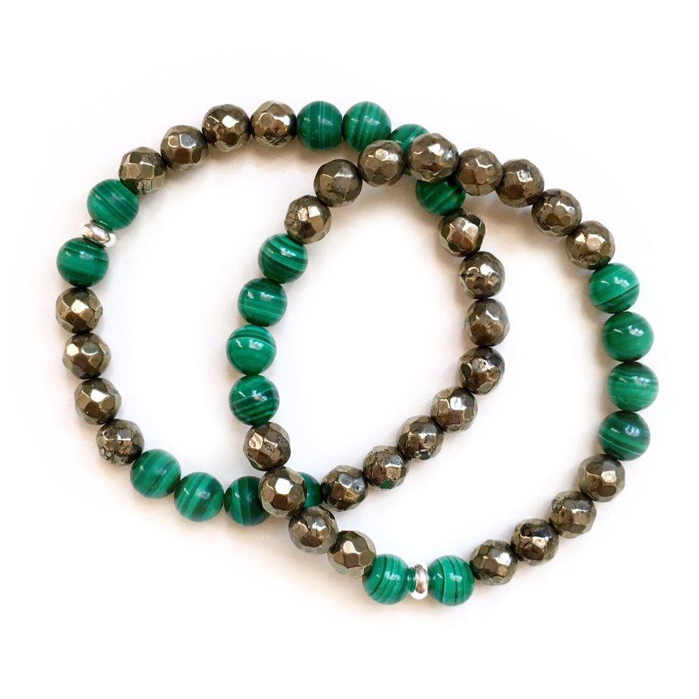 Prosperity crystal bracelet