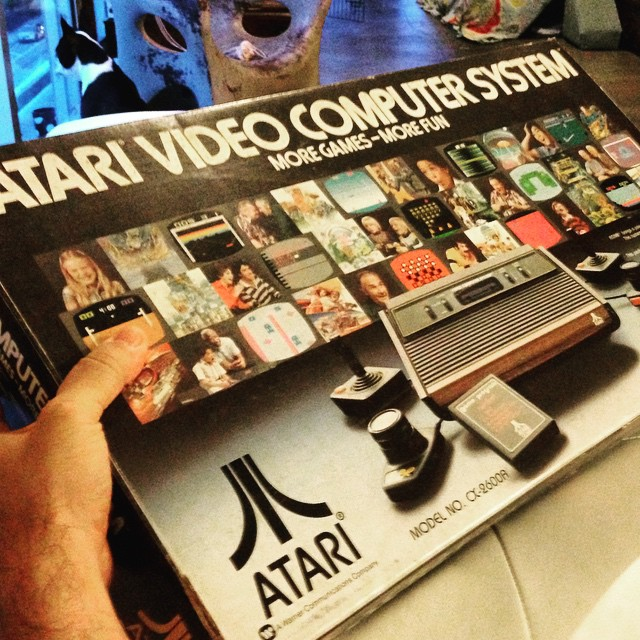 #atari #nib #oldschool #videogame  #estatefind.  Really want to open this....