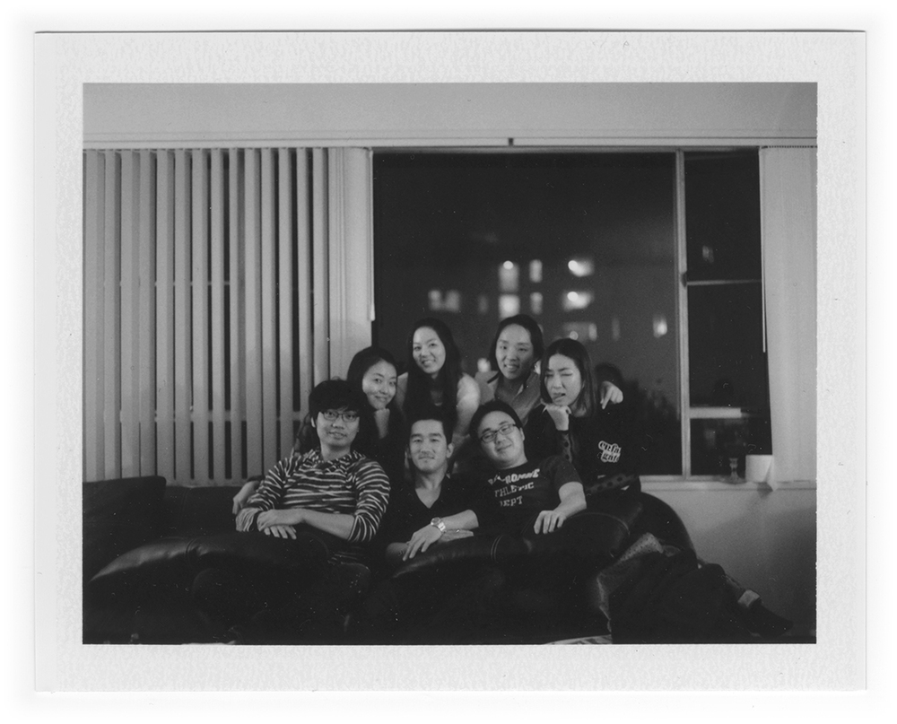 Polaroid land camera 195 - Fujifilm FP-3000b f3.8 1/60