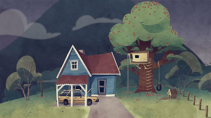 Tane's House, A sample of the backgrounds for the show.