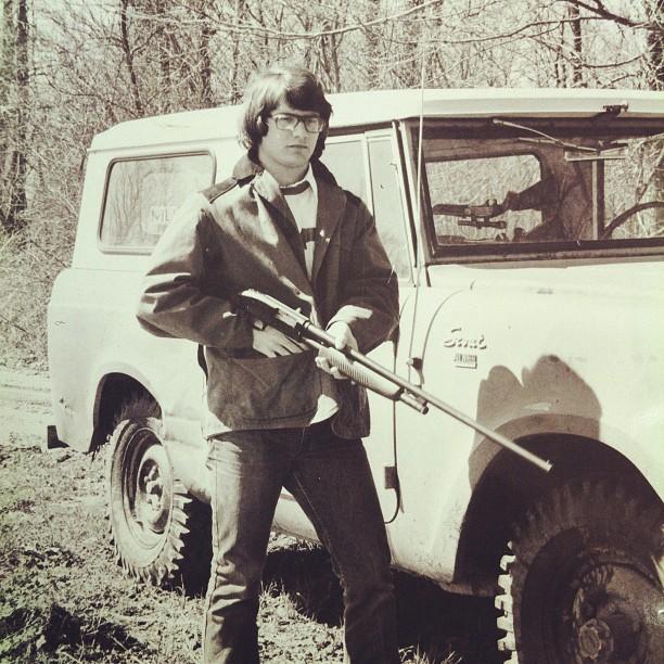 Dad. Mr. Senatobia 1972 (Taken with  instagram )