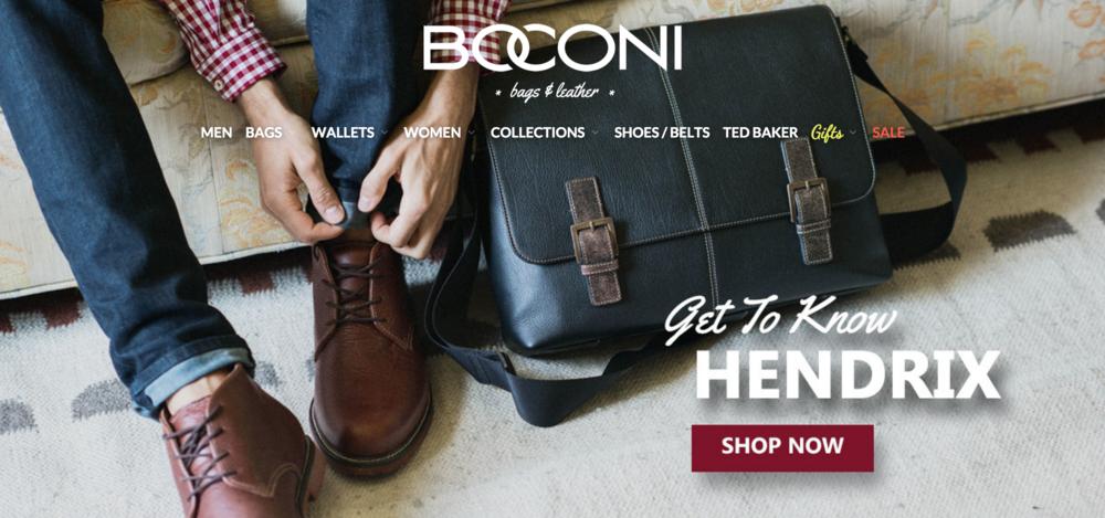 BOCONI.COM (Re-Brand)
