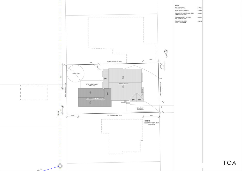 8 WESTMINSTER RD - BC WORKING FILE (2) - Sheet - A1-03 - SITE PLAN OF PROPOSED HOUSE.png
