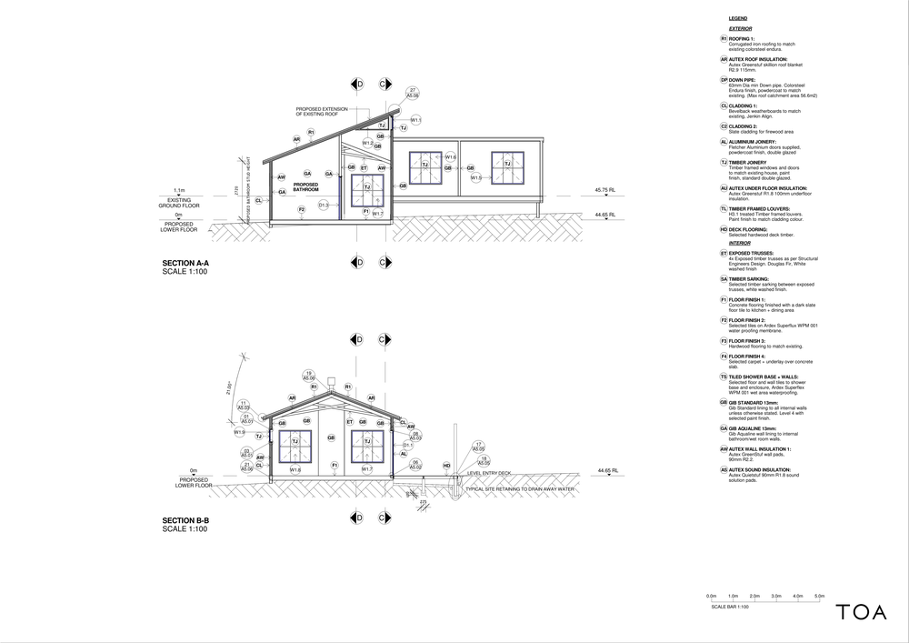 8 WESTMINSTER RD - BC WORKING FILE (2) - Sheet - A3-01 - SECTION SHORT A-A B-B.png