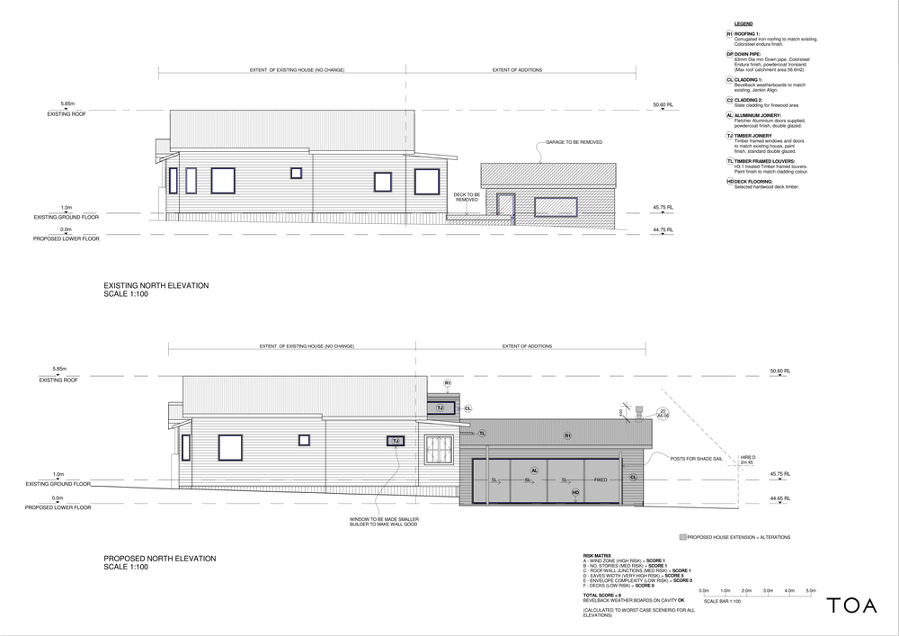 8 WESTMINSTER RD - BC WORKING FILE (2) - Sheet - A4-01 - NORTH ELEVATIONS.png