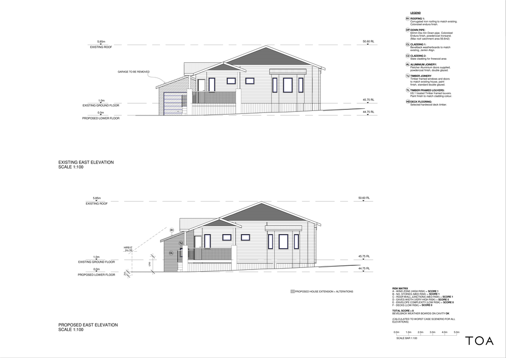 8 WESTMINSTER RD - BC WORKING FILE (2) - Sheet - A4-02 - EAST ELEVATIONS.png